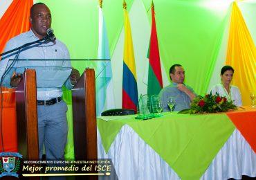 Reconocimiento del Alcalde y el Secretario de Educación